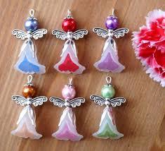 handmade angel necklace images 204 best bead angels images beaded angels earrings jpg