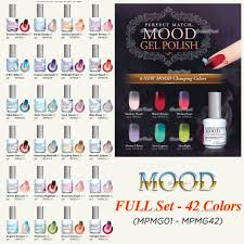 lechat perfect match mood set new colors changing lechat perfect match mood set new colors changing gel collection ebay