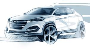 hyundai tucson 2016 brown 2016 hyundai tucson teased ahead of 2015 geneva motor show video