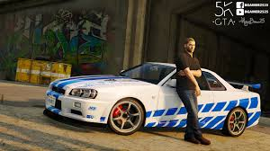 nissan skyline fast and furious 7 latest gta 5 mods fast and furious gta5 mods com