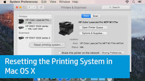 printable area old os resetting the printing system in mac os x youtube