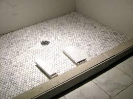 flooring best showeror ideas on hex tile grey tiles