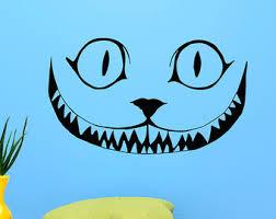 cheshire cat smile etsy
