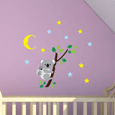 koala bears wall sticker for children s room or nursery by wall koala bears wall sticker for children s room or nursery by wall genie free p p amazon co uk kitchen home