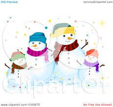 snowman family clipart many interesting cliparts