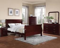 Cherry Wood Sleigh Bedroom Set Trend 2017 And 2018 For Sleigh Bedroom Sets Sleigh Bedroom Sets