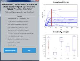 nexperiment computational platform for model based design of