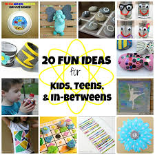great kids u0027 crafts for summer fun one artsy mama