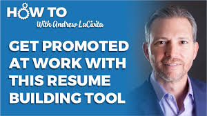 get promoted at work with this resume building tool
