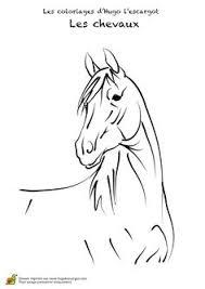 coloriage cheval à colorier dessin à imprimer u2026 pinterest