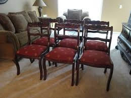 Furniture Duncan Phyfe Rose Back Chairs Duncan Phyfe Chairs
