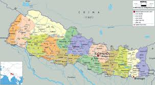 Nepal On World Map by Maps Of Nepal Detailed Map Of Nepal In English Tourist Map Of