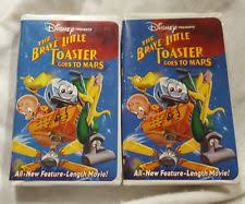 The Little Toaster Goes To Mars The Brave Little Toaster Vhs Tapes Ebay