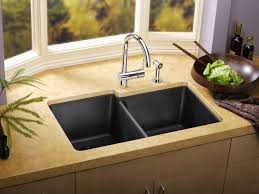 Matte Black Kitchen Faucet by Sink U0026 Faucet Black Kitchen Faucets Pull Out Spray Throughout