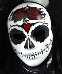 Day Of The Dead Masks True Love Ways Male Mask Day Of The Dead Full Faced Paper