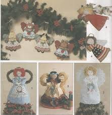 simplicity crafts 8687 christmas craft sewing pattern angel