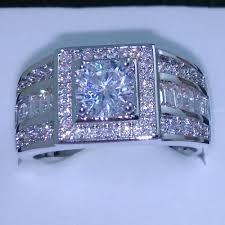 diamond rings aliexpress images Size 7 8 9 10 111 12 13 jewelry luxurious jewellery men topaz 10kt jpg