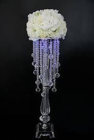 Vase Tall Tall Large Crystal Flower Vase Tall Cylinder Acrylic Crystal Vase