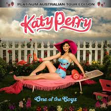 katy perry one of the boys platinum australian tour edition