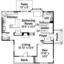 craftsman style house plan 4 beds 2 50 baths 2559 sq ft plan