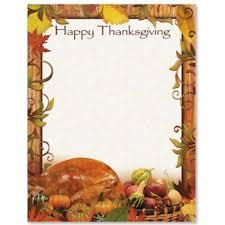 thanksgiving border clip 37