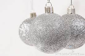 Glitter Christmas Ball Ornaments by Silver Christmas Ornaments U2013 Happy Holidays