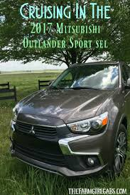 cruising in the 2017 mitsubishi outlander sport sel the farm