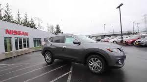 Nissan Rogue Grey - 2015 nissan rogue sl gun metal fc795821 kent tacoma youtube