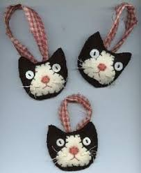 cat ornaments search craft project