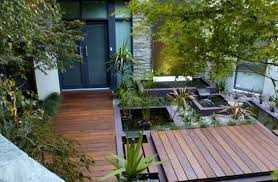 Japanese Patio Design Outdoor Deck And Water Feature Japanese Room Home Garden