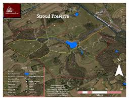 White Clay Creek State Park Map by Stroud Preserve Hudson Geography