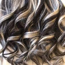 platinum blonde and dark brown highlights 60 hairstyles featuring dark brown hair with highlights blonde