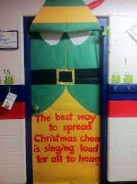 charlie brown christmas classroom door decoration love that