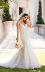 mermaid wedding dress mermaid wedding dress with glamorous lace stella york
