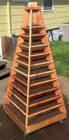 How To Build Vertical Garden - how to build a vertical garden pyramid tower for your next diy