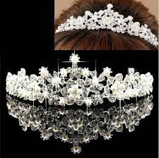 cheap hair accessories cheap gorgeous drills crystals bridal crowns tiaras princess