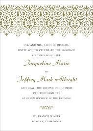 invitation wording wedding sle wedding invitation simplo co