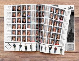 year book easy to use yearbook design ideas for class portrait pages