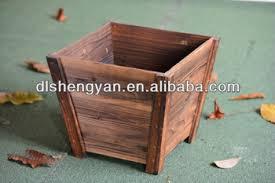 sale rustic wooden planter box garden flower box flower