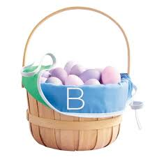 easter basket monogram easter basket liner cool colors spritz target