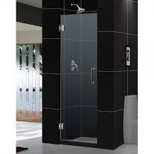 Frame Shower Door Dreamline Unidoor Frameless Hinged Shower Door Opening Width 24 X