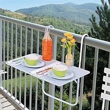 tavolino da terrazzo tavolo pieghevole salvaspazio da balcone misure cm 60x40x68