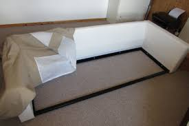 Karlstad Sofa Bed Instructions How To Build An Ikea Karlstad Sofabed Includes Images