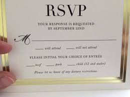 wedding invitations rsvp the layout of this wedding invitation is deeply unfortunate