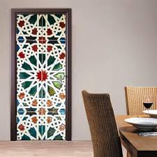 Door Decals For Home by 3d Kaleidoscope Door Wall Mural Wallpaper Stickers Removable