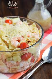 shrimp pasta salad shugary sweets