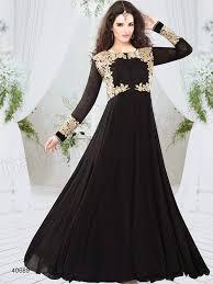 beautiful stylish modern girls party wear black dresses 2