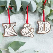 39 best personalised wooden christmas decorations images on