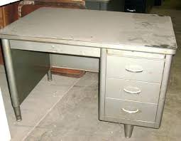 Vintage Metal Office Desk Vintage Metal Office Desk Furniture Popular All Steel Ff14 Site