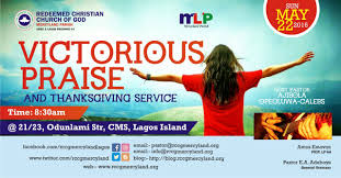 praise and thanksgiving service